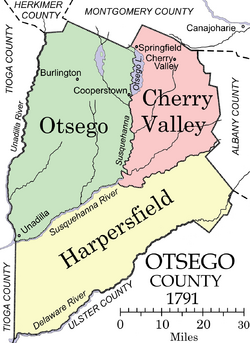 Otsego County 1791