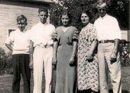 Sylvester Doty Family