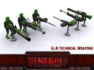 GLA TechnicalWeapons