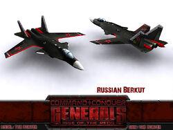 Russian Berkut Render