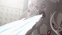 Multi-Faced EVO's ice breath