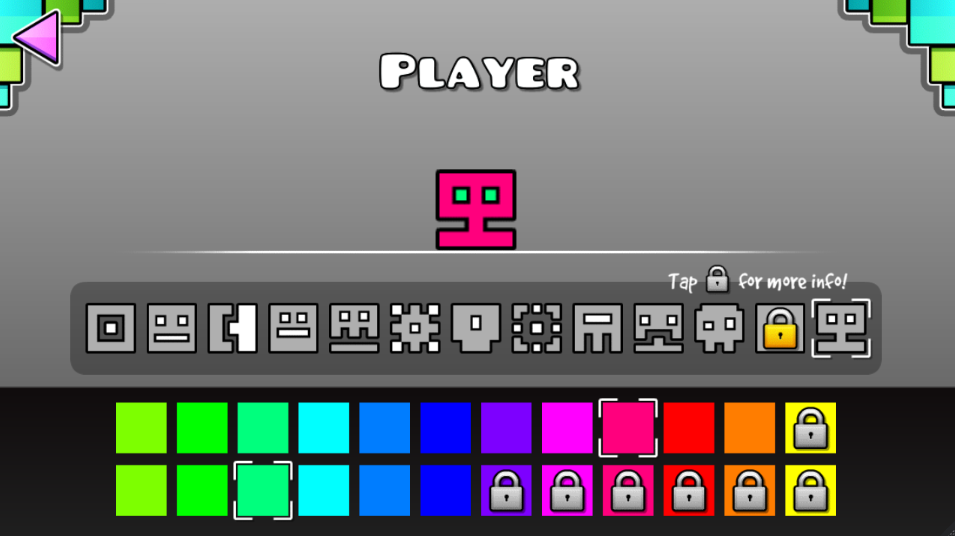geometry dash how to get all cubes