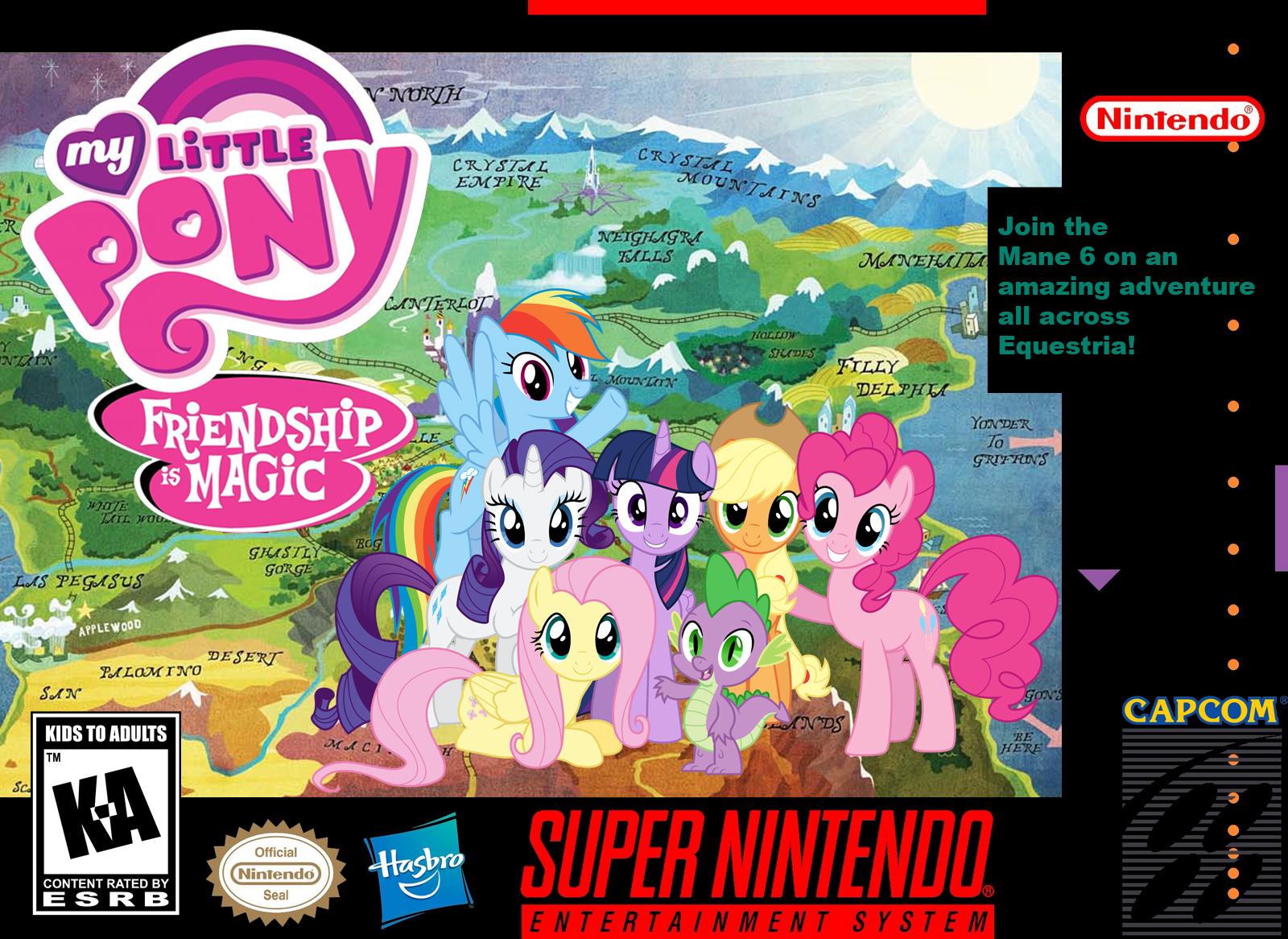 My Little Pony SNES   Geoshea's Lost Episodes Wiki   Fandom powered by ...