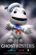 Little Big Planet Stay Puft Wallpaper 320x480 (mobile)