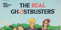 The Real Ghostbusters: A Giant Coloring Book