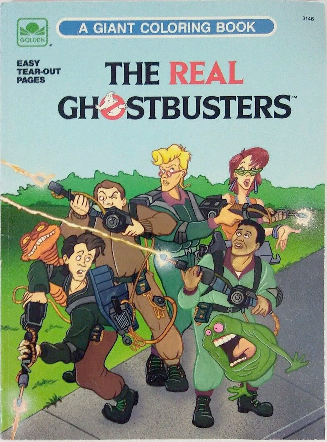 the real ghostbusters a giant coloring book ghostbusters wiki fandom powered by wikia - Giant Coloring Book