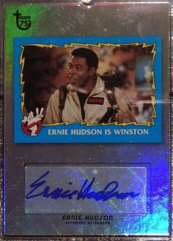 File:GB2 Topps 75th Ernie Hudson Foil Card1.jpg