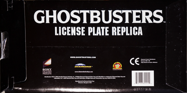 File:DiamondSelectECTO1LicensePlateReplicaforGhostbusters2back.png