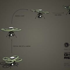Concept art for the drone