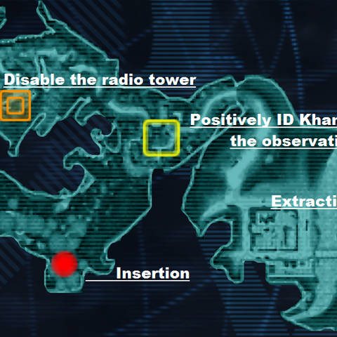 Mission map