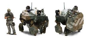 Warhound concept