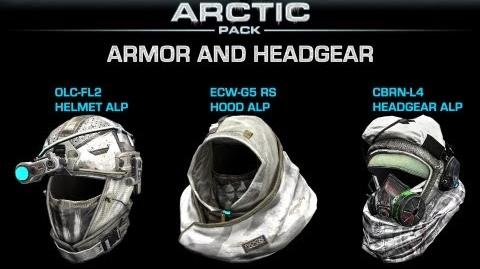 Ghost Recon Online - Arctic Pack Armor and Headgear