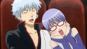 Gintoki and Sarutobi Episode 277