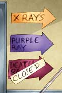 Purple ray