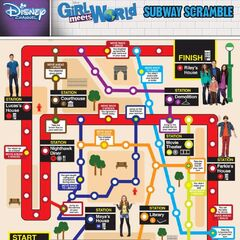 GMW Board Game By Disney