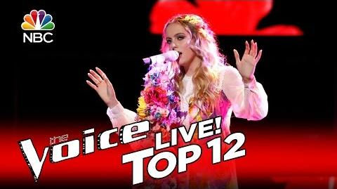 """The Voice 2016 Darby Walker - Top 12 """"Ruby Tuesday"""""""