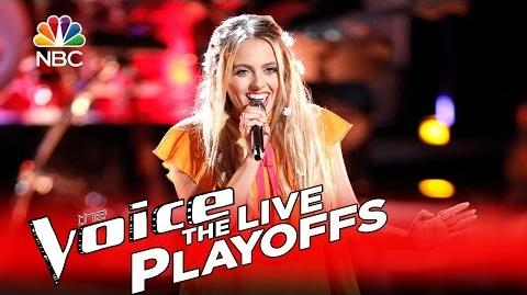 """The Voice 2016 Darby Walker - Live Playoffs """"Those Were the Days"""""""