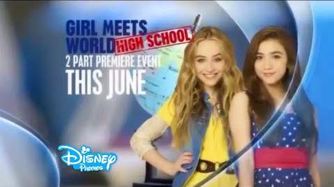 Girl Meets World Girl Meets High School Season 3 Promo