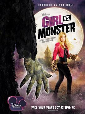 Girl vs Monster Official Movie Poster
