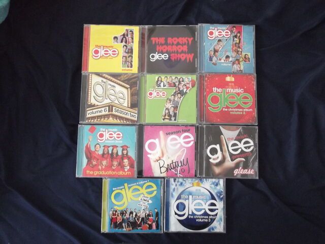 File:Glee CDs.jpg