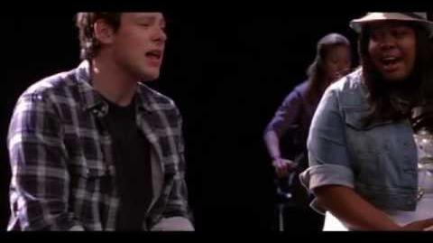 To sir, with love- full performance (glee cast)