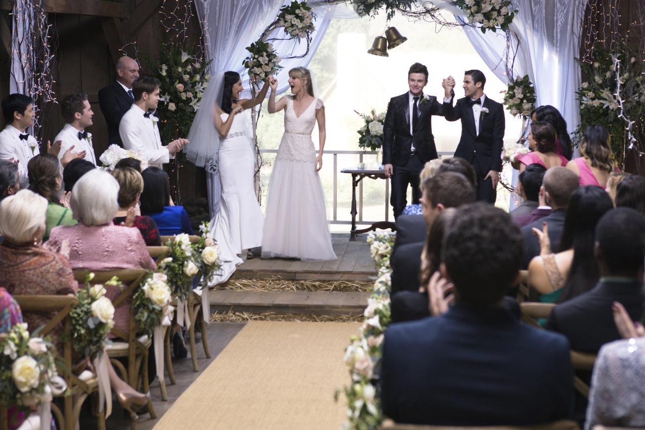 A Wedding Glee Tv Show Wiki Fandom Powered By Wikia