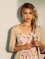 Dianna as Belle