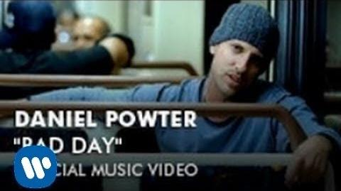 Video - Daniel Powter - Bad Day (Official Music Video) | Glee TV Show Wiki | FANDOM powered by Wikia