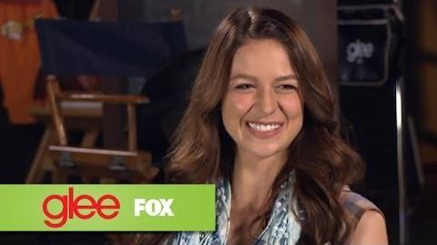Melissa Benoist & Blake Jenner Rapid Fire FOX LOUNGE GLEE
