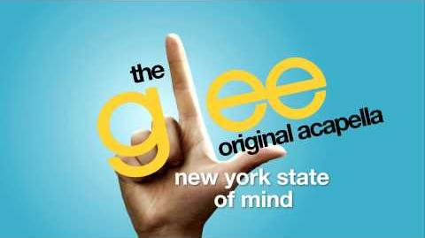 Glee - New York State Of Mind - Acapella Version