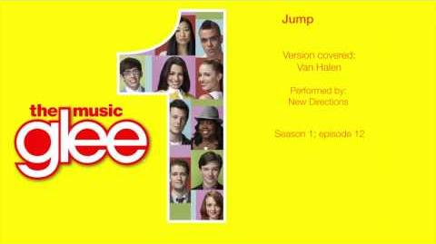 Glee Cast - Jump HD with Lyrics