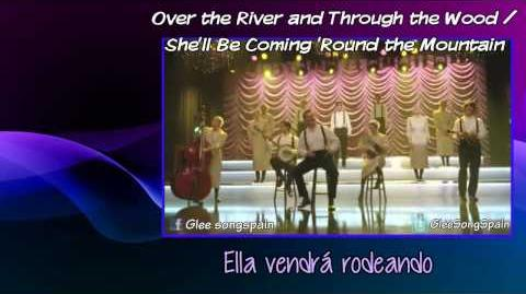 Glee - Over the River and Through the Wood Traducida Video