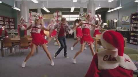 """Full Performance of """"Jingle Bell Rock"""" from """"Glee Actually"""" GLEE"""
