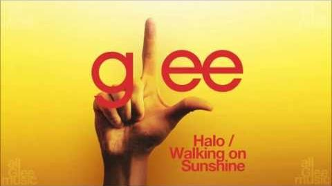 Halo Walking On Sunshine Glee HD FULL STUDIO