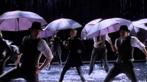 GLEE - Singing In The Rain Umbrella (Full Performance) (Official Music Video)