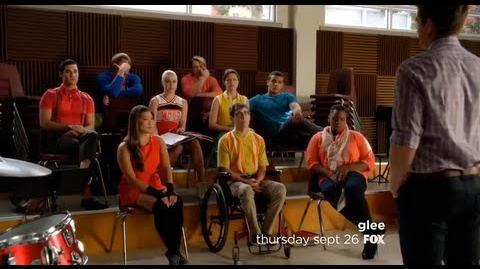 """Glee 5x01 """"Love, Love, Love"""" Sneak peek ."""