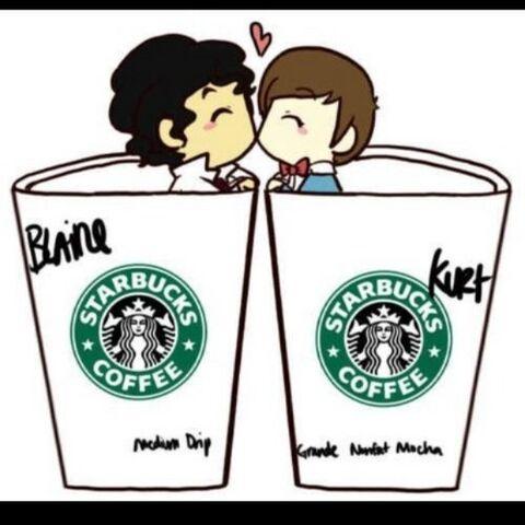 File:Blaine and kurt starbucks.jpg