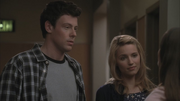 Finn and Quinn asking Rachel to be head of Talent Relations