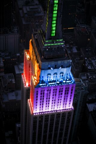 File:Empire state Building rainbow.jpg