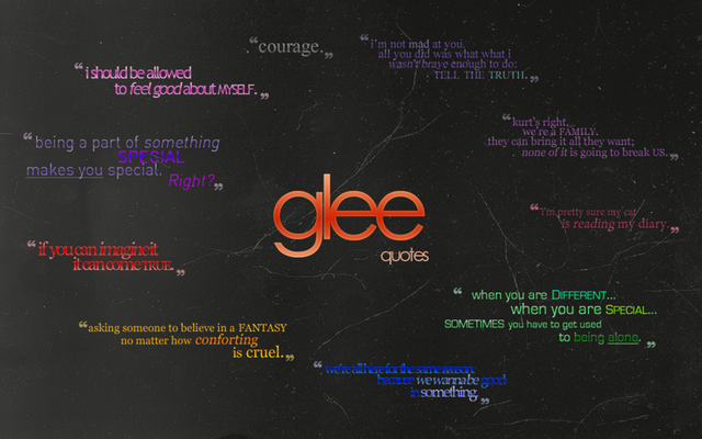 File:Glee quotes wallpaper by astral 17-d36mtbu.png