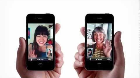 Melissa Benoist para a Apple iPhone 4 - Facetime (comercial)
