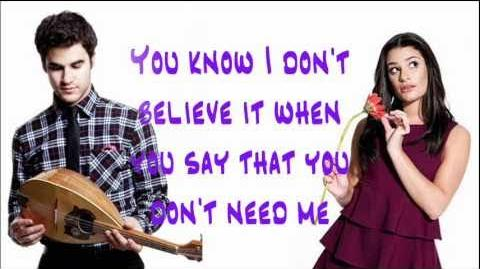 Glee - Don't You Want Me Official Video Lyrics HQ