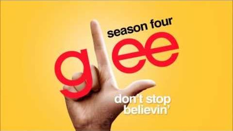 Don't Stop Believin' (Rachel Solo Audition Version) - Glee HD Full Studio