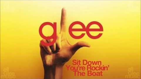Sit Down You're Rockin' The Boat Glee HD FULL STUDIO
