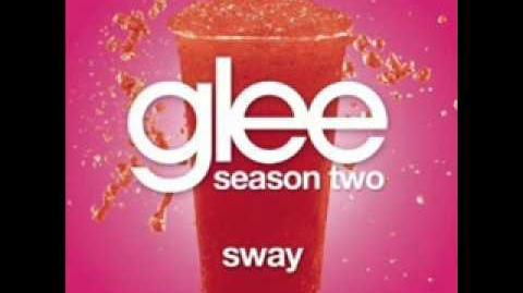 Glee - Sway (LYRICS)