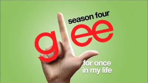For Once In My Life Glee HD FULL STUDIO