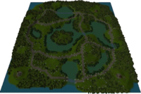 Athena's Valley Map