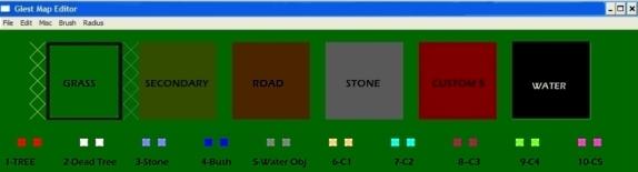 Map Editor Palette