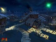 Water Slums at night screenshot