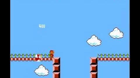 Super Mario Bros. - Minus World - Famicom Disk System Style